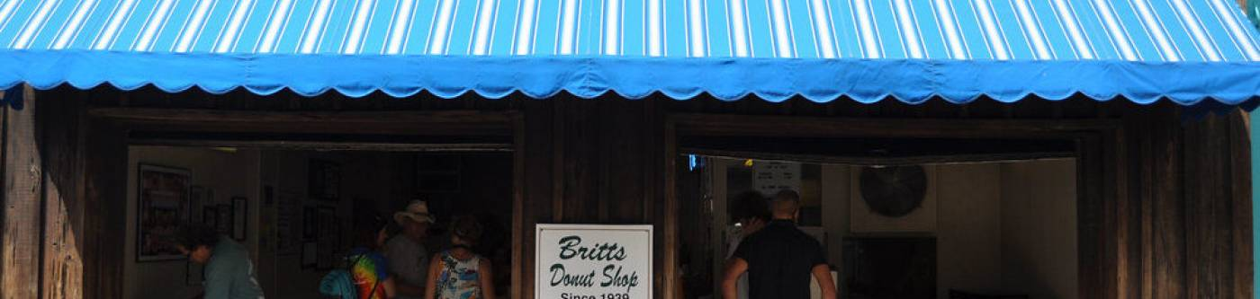 Britts Donuts Carolina Beach